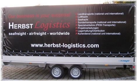 Herbst Logistics Landtransporte